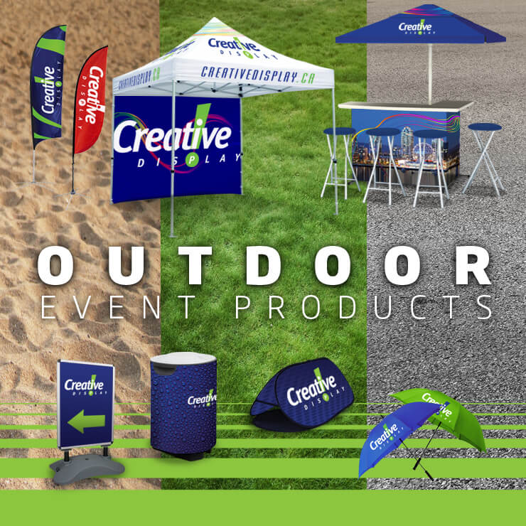 Outdoor Event Products - Flags, Tents & More