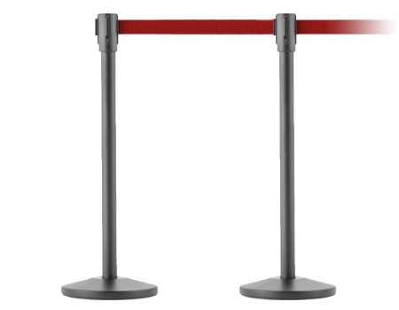 Crowd Control Belt Stanchions