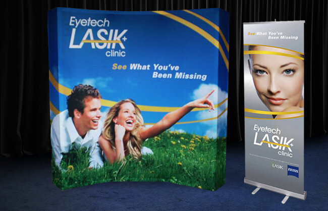 Winnipeg Trade Show Display - Eyetech Lasik