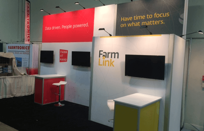 Winnipeg Trade Show Booth - Farmlink