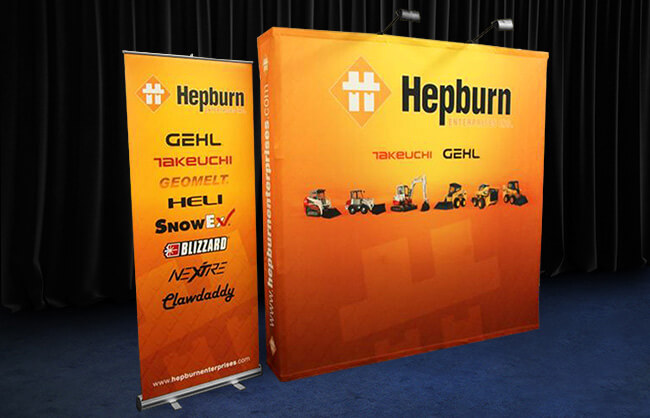 Winnipeg Trade Show Display - Hepburn