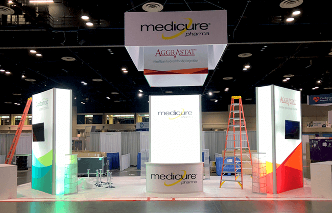 Winnipeg Trade Show Booth - Medicure