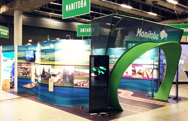 Winnipeg Trade Show Booth - Government of Manitoba