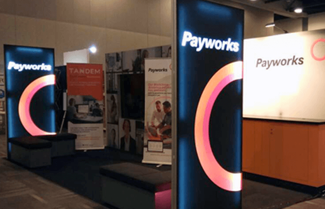 Winnipeg Trade Show Booth - Payworks