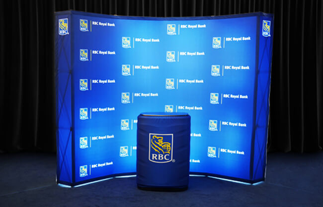 Winnipeg Trade Show Display - RBC