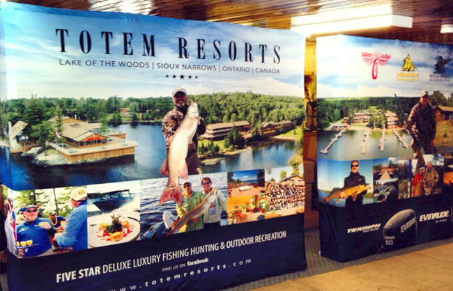 Winnipeg Trade Show Display - Totem Resorts