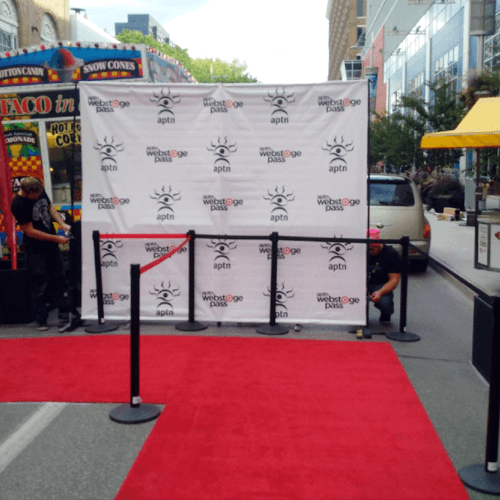 Winnipeg Media Wall - Red Carpet